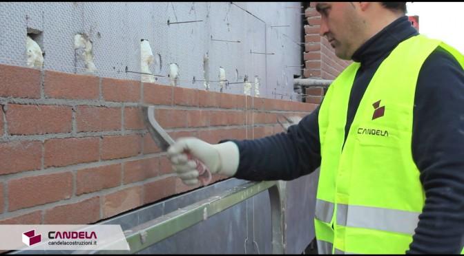 Finitura dei mattoni a vista: costipazione, stilatura e spazzoltura delle fughe